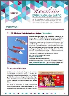 Newsletter Maio 2017